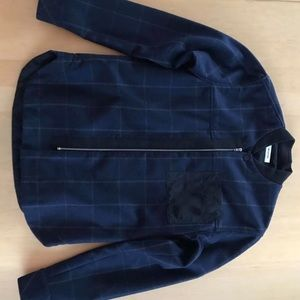 Tim Coppens Checked Zip Jacket